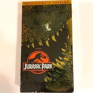 Jurassic Park Collectors Edition set of two VHS